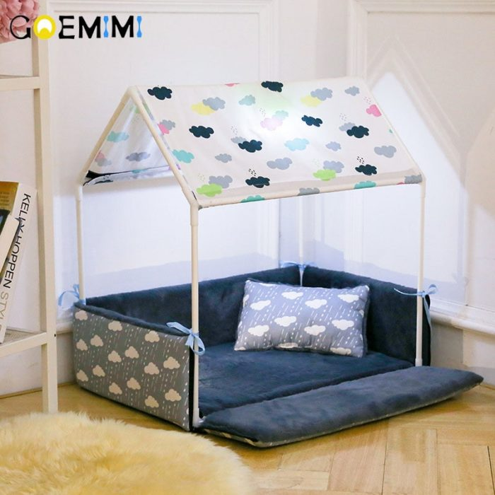 Dog Tent Bed Cozy Pet House