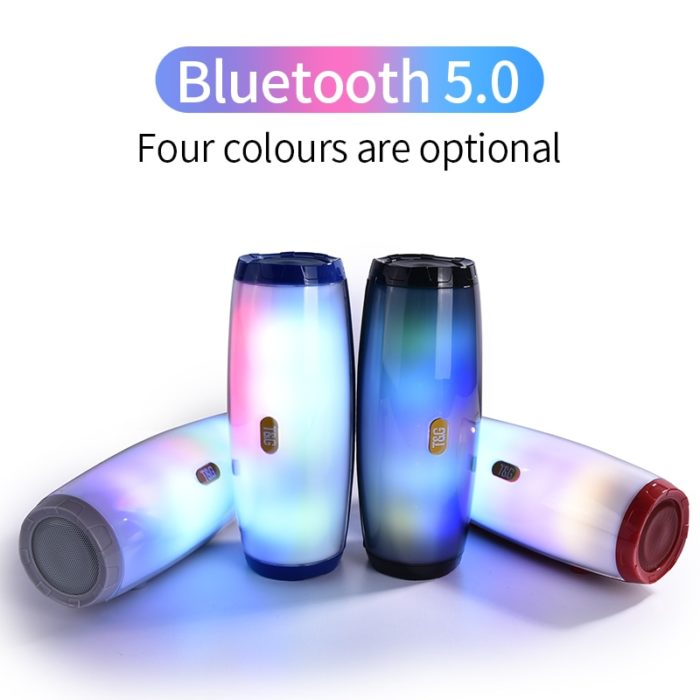 LED Bluetooth Speaker Portable Device