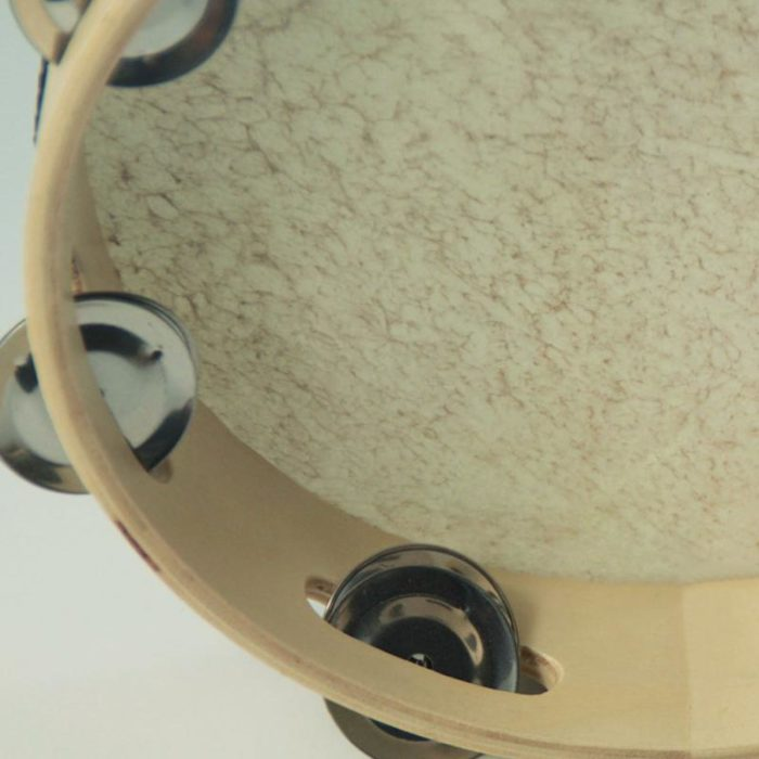 Tambourine Instrument Sheepskin Cover