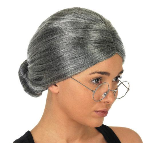 Grandma Wig Halloween Costume