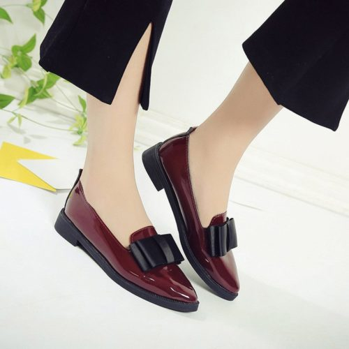Loafers Women Low Heel Shoes