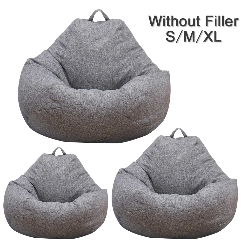 Bean Bag Chair Cover Without Filler Life Changing Products