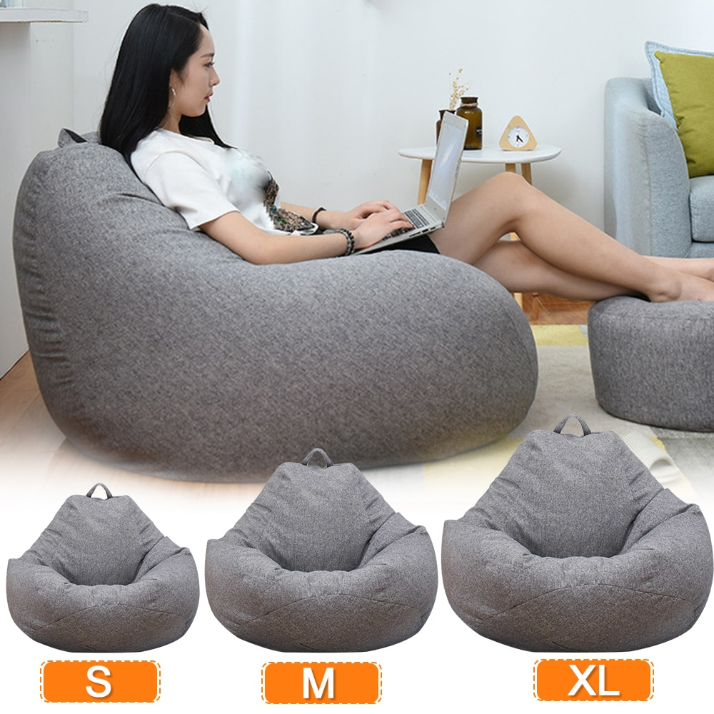 Brilliant Bean Bag Chair Cover Without Filler Uwap Interior Chair Design Uwaporg