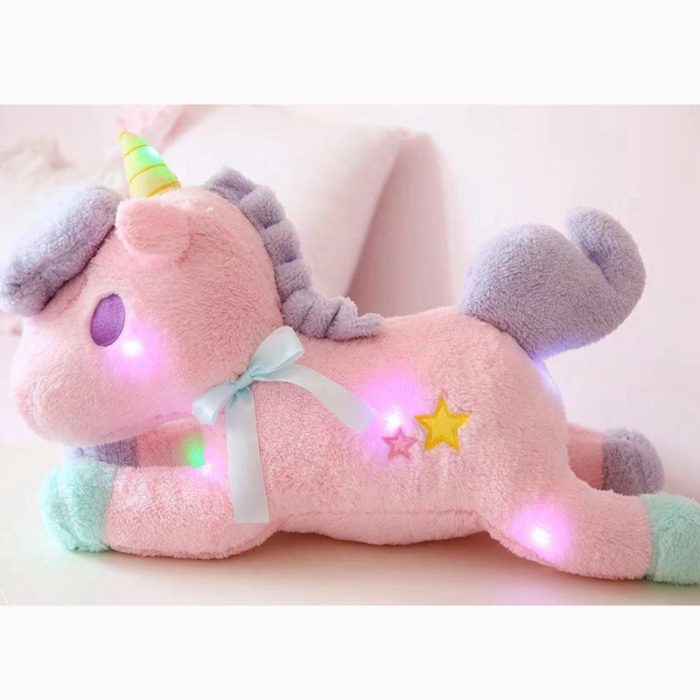 Unicorn Stuffed Toy With Magical Lights