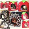 Pet House Foldable Cushion Bed