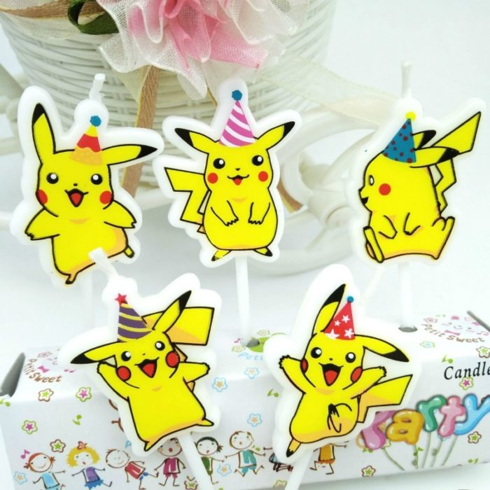 Cake Candles Cartoon Design 5pcs/set