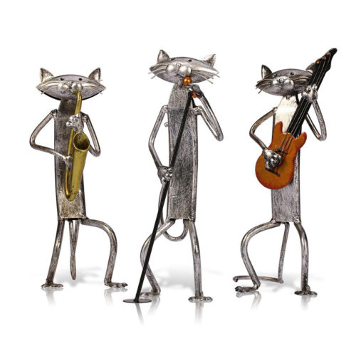 Metal Figurines Home Decoration