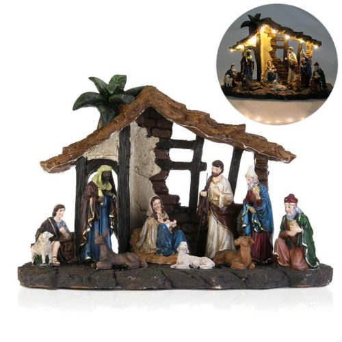 Nativity Scene Set Christmas Decor