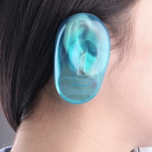 Ear Covers 1 Pair Silicone Protectors