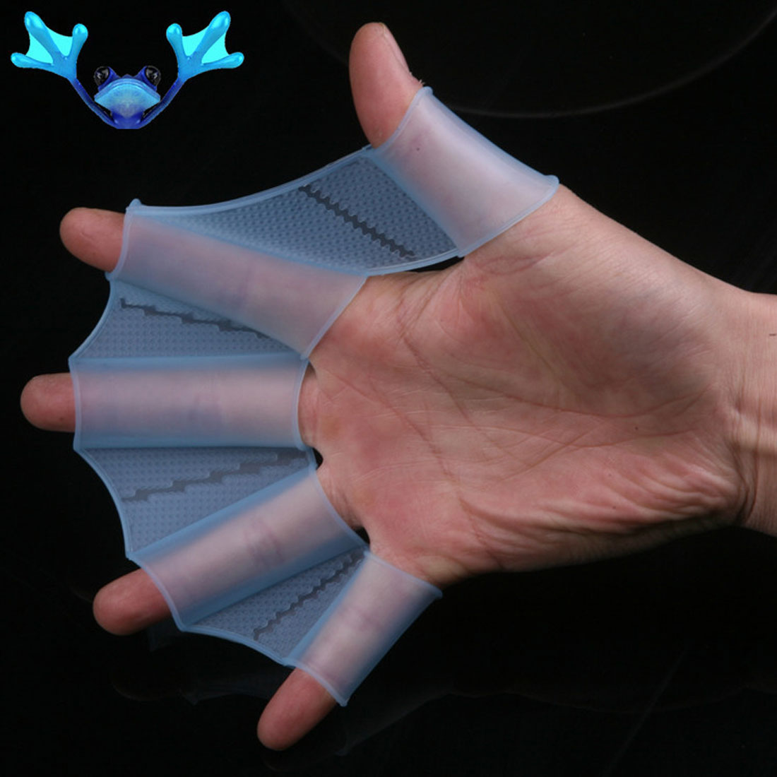Swim Fin Silicone Training Glove