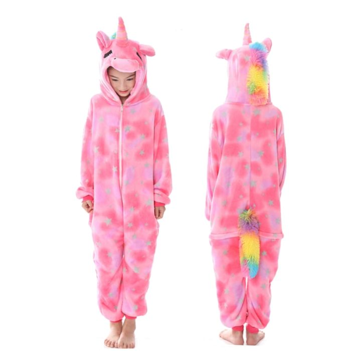 Onesies For Kids Cute Unicorn Pajama