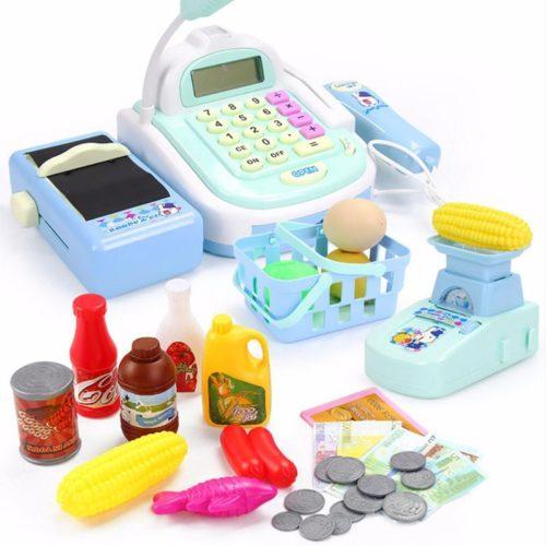 Toy Supermarket Pretend Play Set