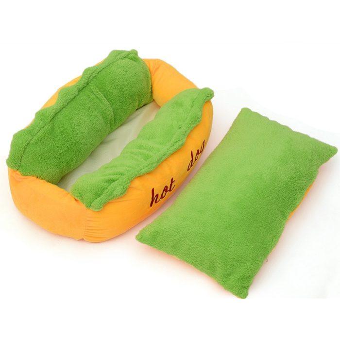 Hot Dog Dog Bed Pet Lounger