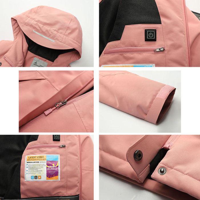 Heated Jacket USB Heating Coat