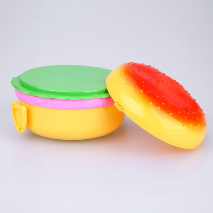 Lunch Container For Kids Hamburger Style