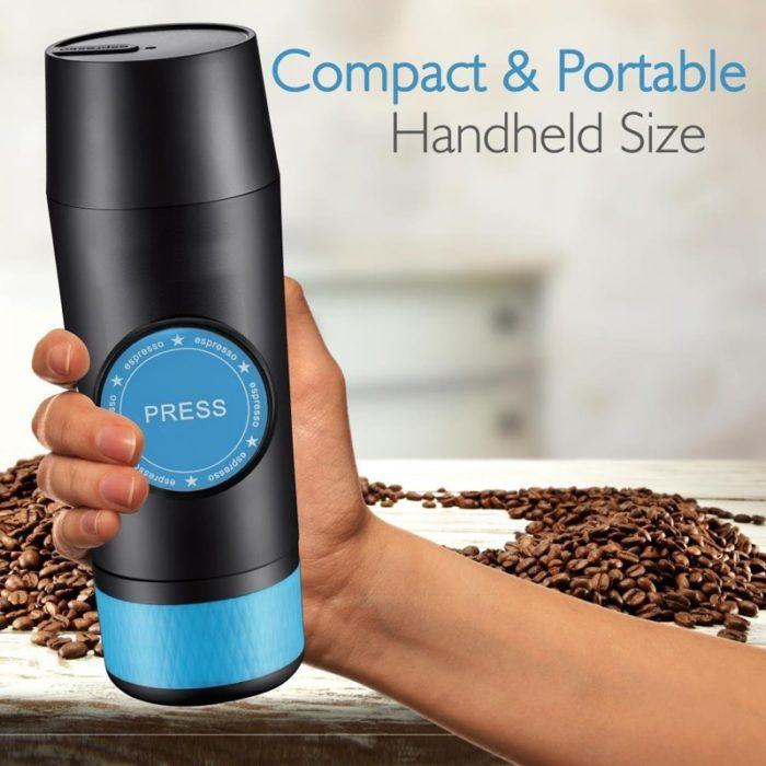 Portable Espresso Maker Dual Purpose