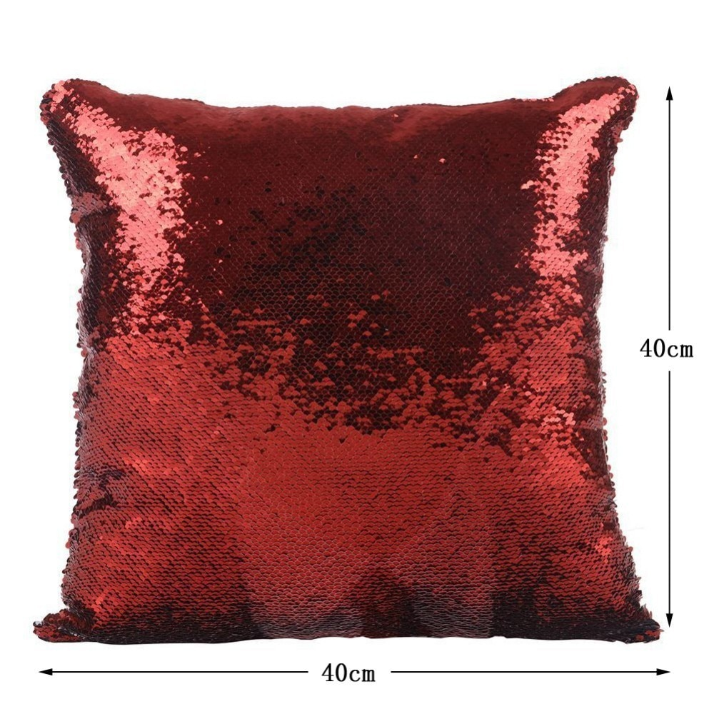 Nicolas Cage Sequin Pillow Funny Pillow