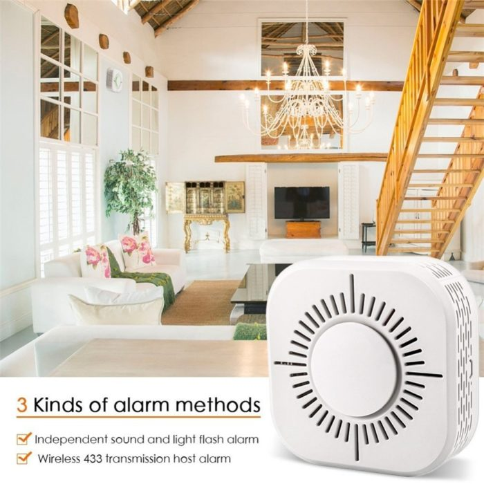 Smoke Alarm Detector Wireless