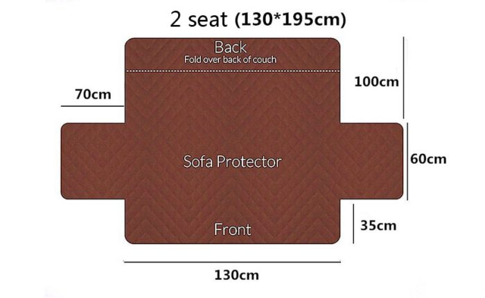Sofa Protector Cover Reversible Couch Covers