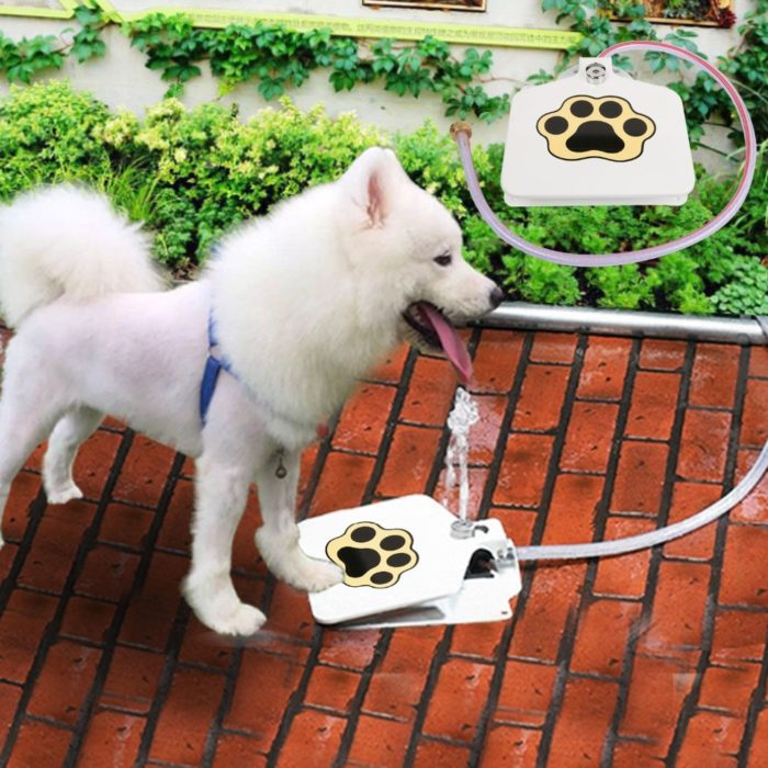 Pet Drinking Fountain Step-On Device
