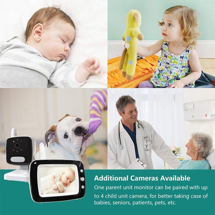Monitor Camera Wireless Baby Camera