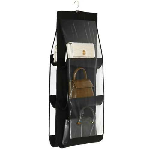 Bag Storage Clear Hanging Purse Holder