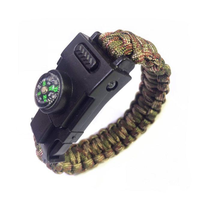 Paracord Survival Bracelet Outdoor Tool