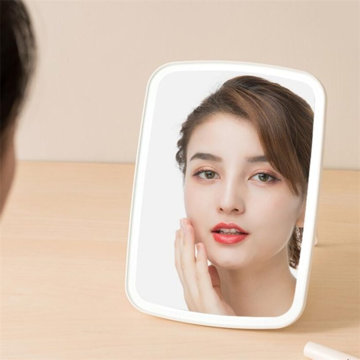 Smart Mirror with Adjustable LED Light