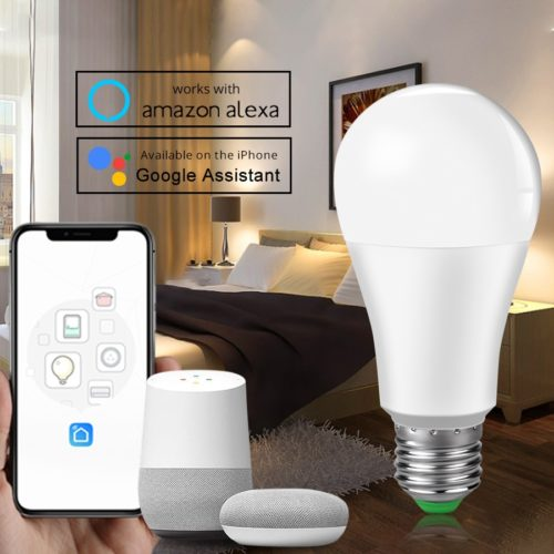 Smart LED Bulb Voice Smartphone Control
