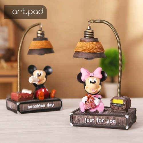 Kids Night Lamp Cartoon Design