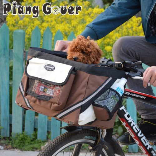 Dog Carrier for Bike Pet Accessory