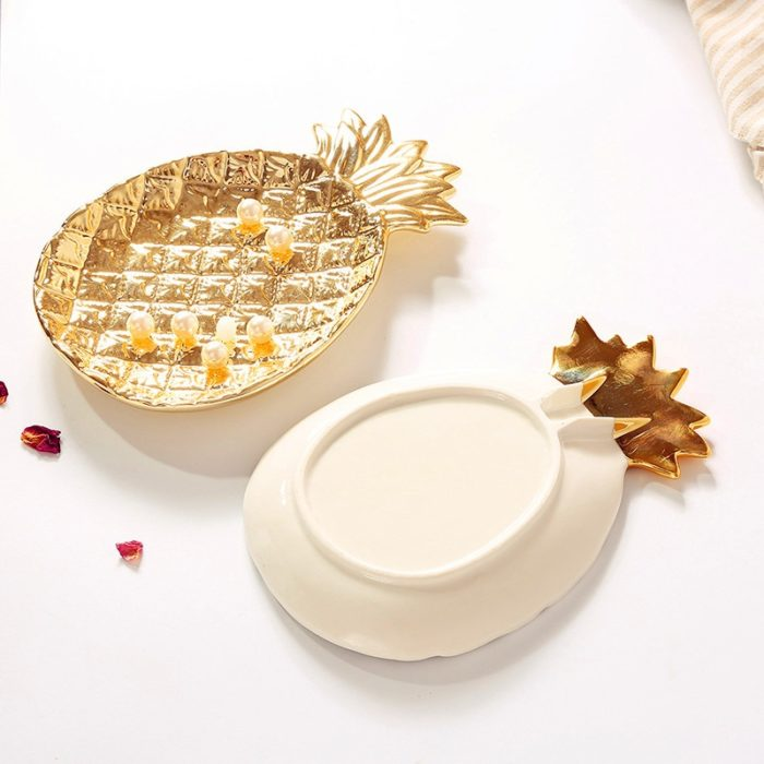 Jewelry Plate Pineapple Storage Dish