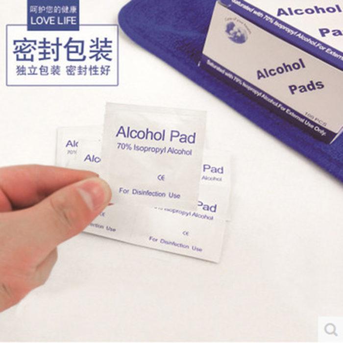 Alcohol Prep Pads 100PC Set
