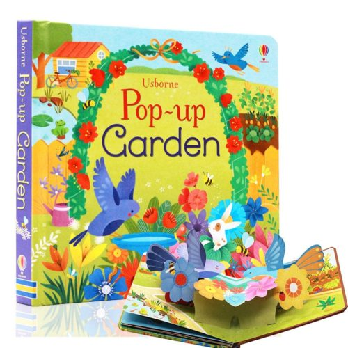 Pop Up Book Kids Garden Book