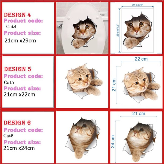 Cat Stickers Home Decoration Stickers
