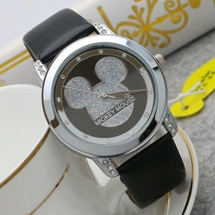 Stylish Watch For Girls Cartoon Design