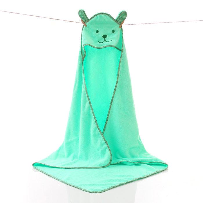 Hooded Bath Towel For Children