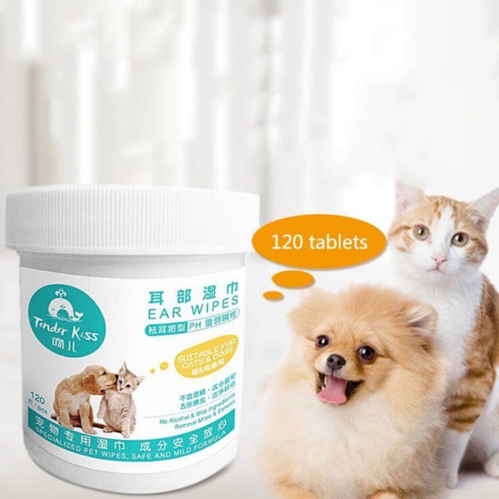 Pet Wipes Ear Cleaner Pet Grooming
