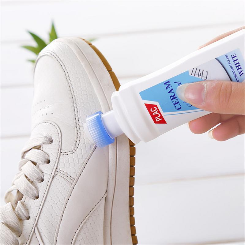 white shoe polish