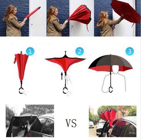 Upside Down Umbrella Reverse Umbrella