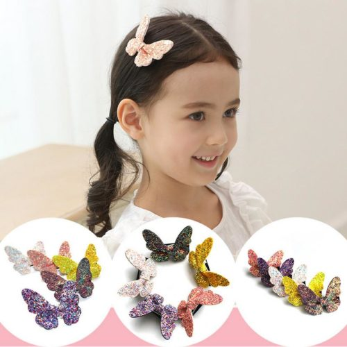 Butterfly Clips Kids Hair Accessories