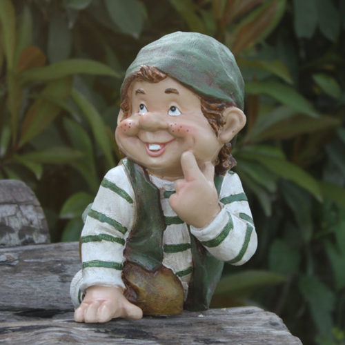 Lawn Gnome Outdoor Garden Decoration