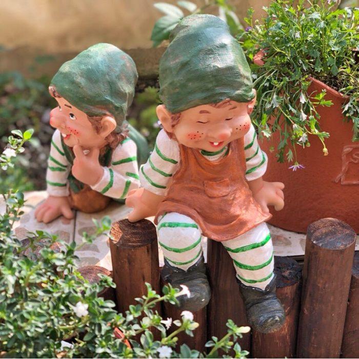 Lawn Gnome Outdoor Garden Decoration