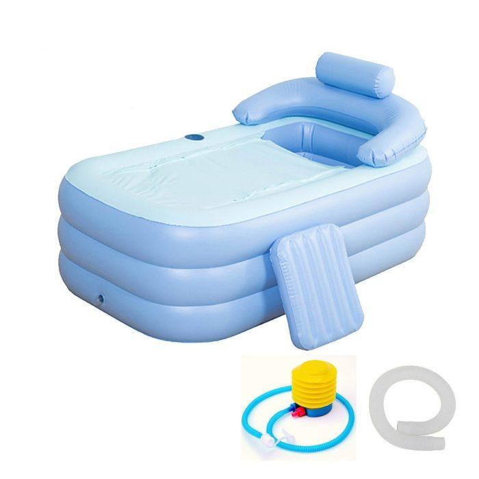Inflatable Bathtub with Air Pump