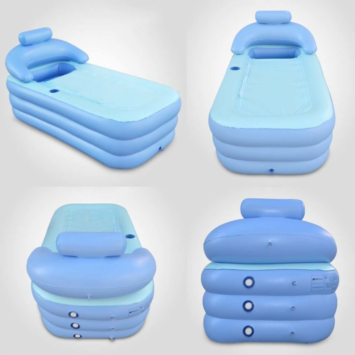 Inflatable Bathtub with Air Pump