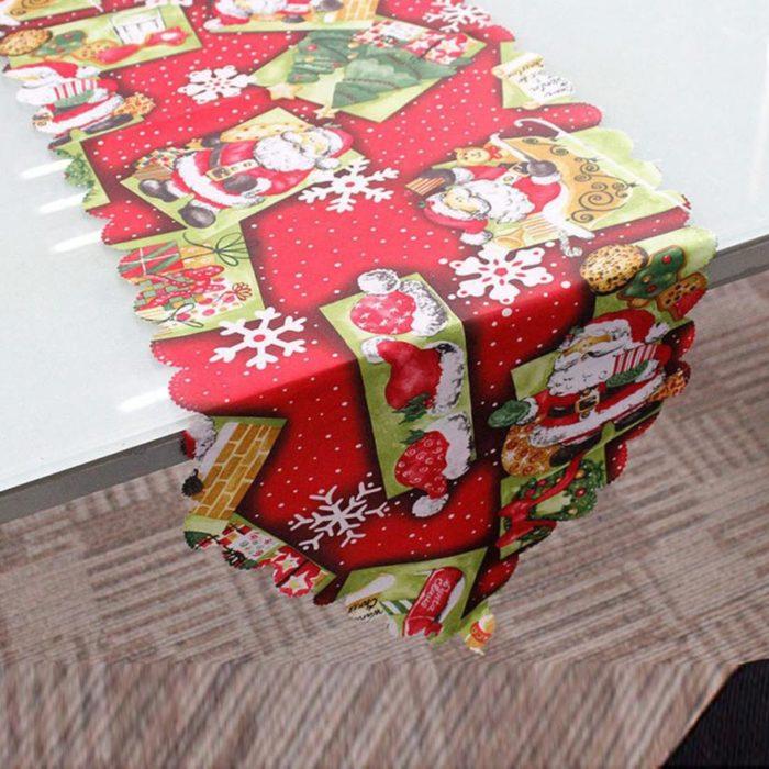 Christmas Table Runner Decorative Cloth