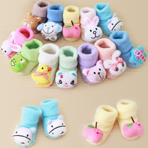 Infant Socks Cotton Fabric