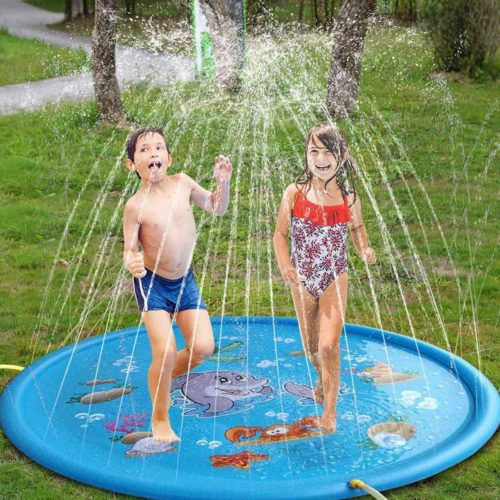 Water Sprinkler for Kids Inflatable Play Pool