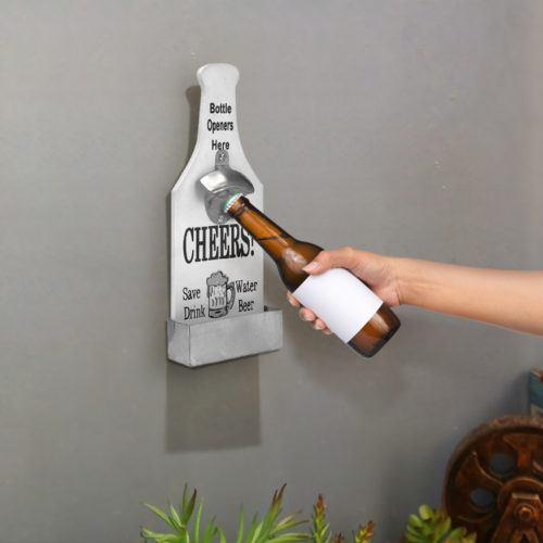Wall Bottle Opener Functional Decoration