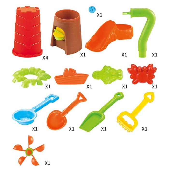 Sand and Water Play Table Education Set